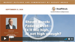Sheaff Brock Reviews the Federal Debt: Too High or Not High Enough?